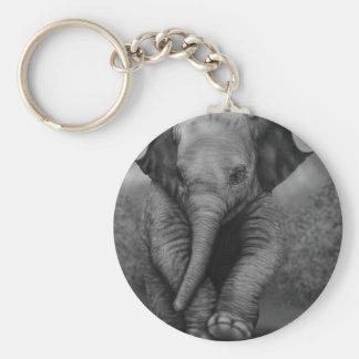 Baby Elephant Key Chain