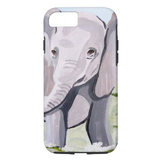 Baby Elephant (Kimberly Turnbull Art) iPhone 8/7 Case