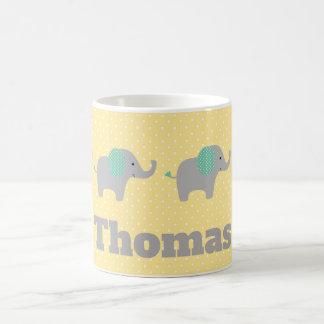 Baby Elephant Parade Personnalised Coffee Mug