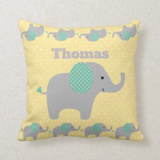 Baby Elephant Parade Personnalised Cushion