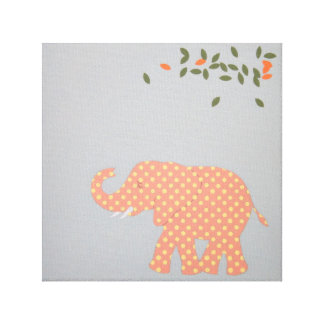 Baby Elephant print for baby room.