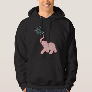 Baby Elephant Star Shower Hoodie