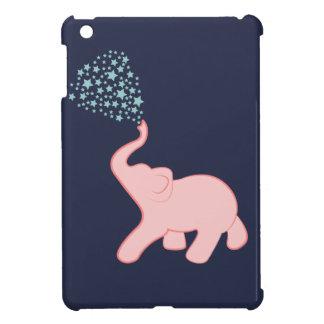 Baby Elephant Star Shower iPad Mini Cases