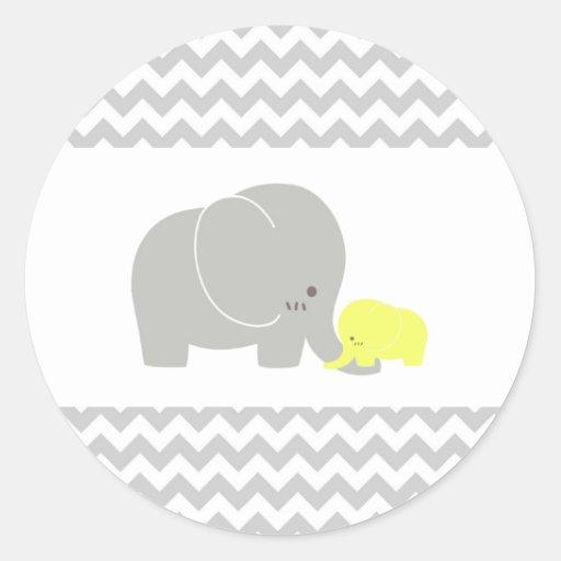 Baby Elephant Sticker