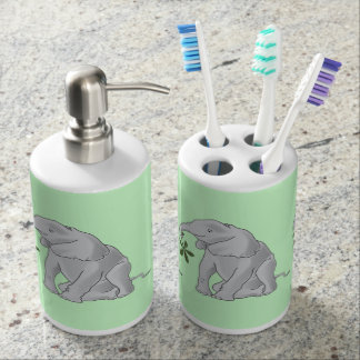 Baby Elephant Toothbrush Holders