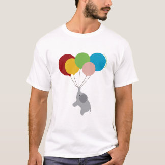 Baby Elephant with Balloons Shirt