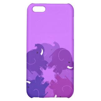 BABY ELEPHANTS CASE FOR iPhone 5C