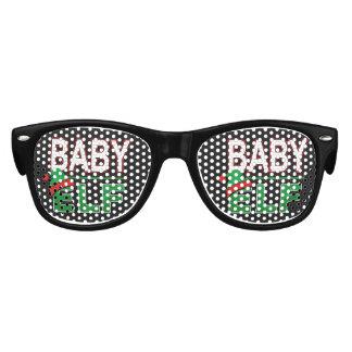 Baby Elf   Team Elf Christmas Holiday Family   Kids Sunglasses