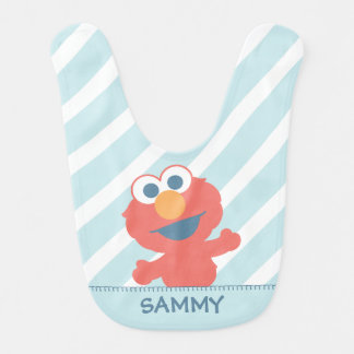 Baby Elmo | Add Your Name Bibs