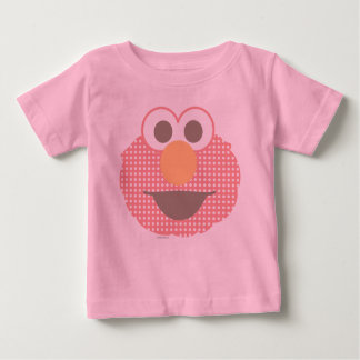 Baby Elmo Big Face Polka Dot Baby T-Shirt