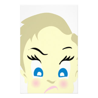 baby emoji - aggressive stationery