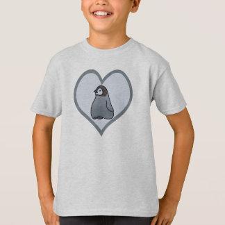 Baby Emperor Penguin Chick Love Kids T-Shirt