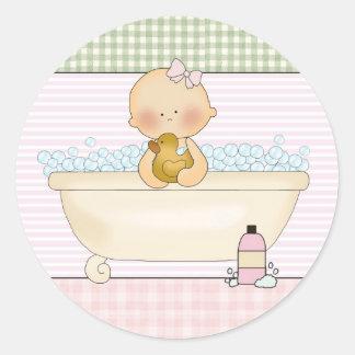 Baby- Envelope Seals: Sweet Baby Collection Round Sticker