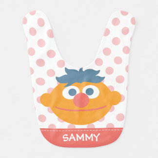 Baby Ernie Face   Add Your Name Bib