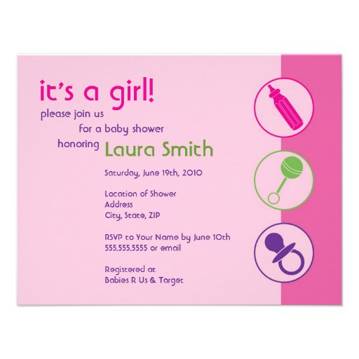 Baby Shower Wording Invitation as best invitations ideas