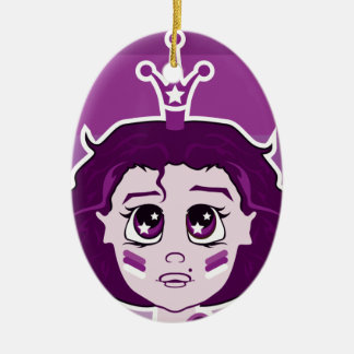 Baby face christmas ornaments