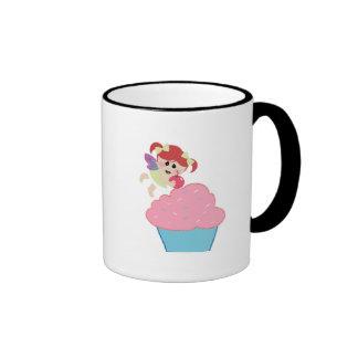 baby fairy cupcake cherry on top coffee mug