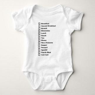 Baby Feeding Schedule Baby Bodysuit