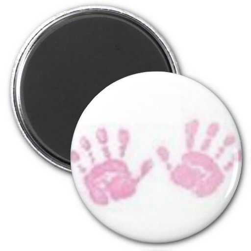 Baby Feet Fridge Magnets
