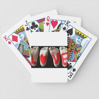 Baby Feet Poker Deck