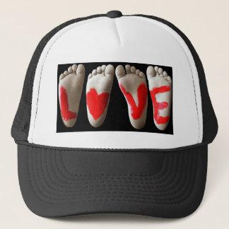 Baby Feet Trucker Hat