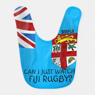 Baby Fiji Flag Bib