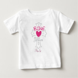 Baby Fine Bling Life Jersey T-Shirt