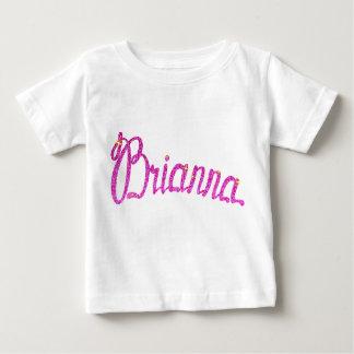 Baby Fine Jersey T-Shirt Brianna name