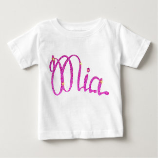 Baby Fine Jersey T-Shirt  Mia