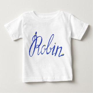 Baby Fine Jersey T-Shirt Robin