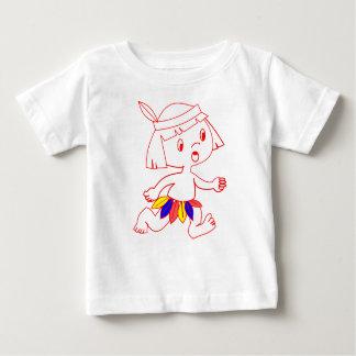 Baby Fine Jersey T-Shirt with cartoon boy