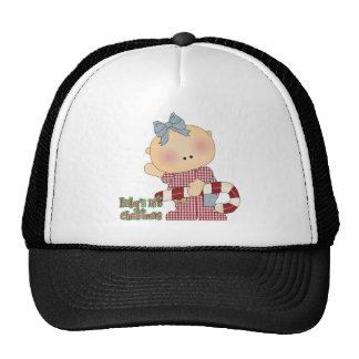 baby first christmas baby girl hat