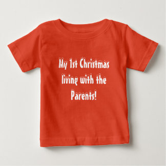 Baby First Christmas Baby T-Shirt