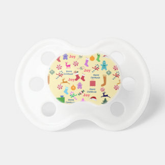 Baby First Merry Bright Christmas Pacifier