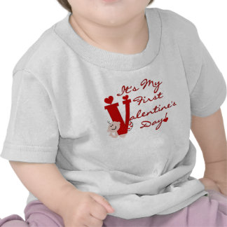 Baby First Valentine s Day Tee Shirts