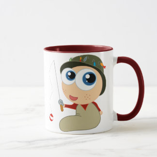 Baby Fisherman Funny Fishing Gift Mug