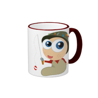 Baby Fisherman Funny Fishing Gift Coffee Mugs