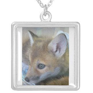 baby fox necklace