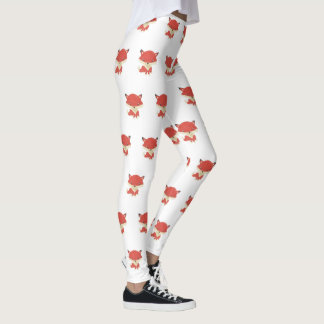 Baby Fox Pattern Women's Leggings