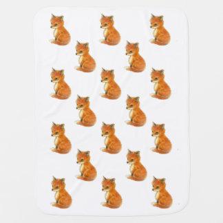 Baby Fox Vintage Baby Blanket