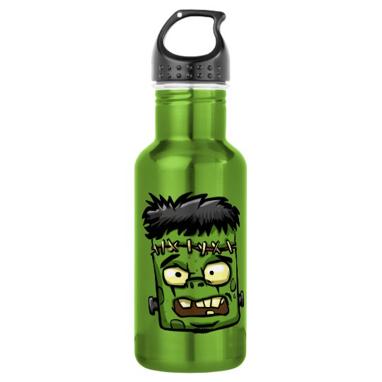 Baby frankenstein - baby frank - frank face 532 ml water bottle