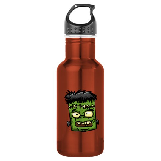 Baby frankenstein - baby frank - frank face 532 ml water bottle