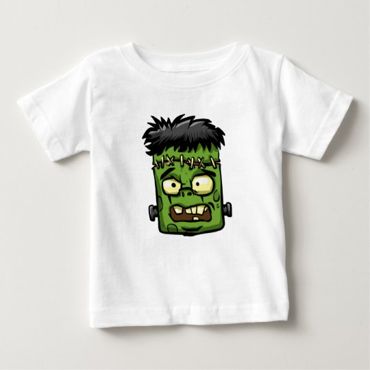 Baby frankenstein - baby frank - frank face baby T-Shirt