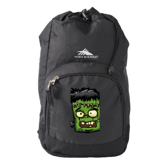 Baby frankenstein - baby frank - frank face backpack
