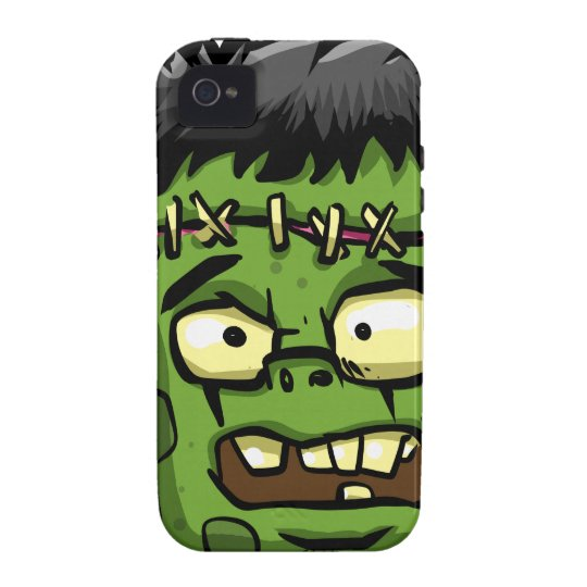 Baby frankenstein - baby frank - frank face Case-Mate iPhone 4 case