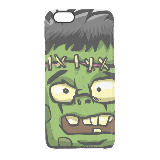 Baby frankenstein - baby frank - frank face clear iPhone 6/6S case