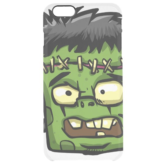 Baby frankenstein - baby frank - frank face clear iPhone 6 plus case