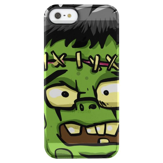 Baby frankenstein - baby frank - frank face clear iPhone SE/5/5s case