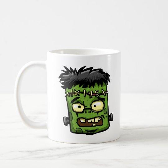 Baby frankenstein - baby frank - frank face coffee mug