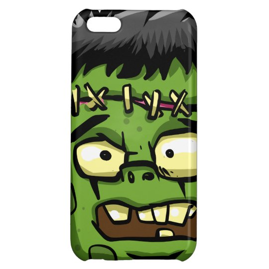 Baby frankenstein - baby frank - frank face cover for iPhone 5C